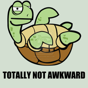 Awkward_Turtle_by_Sidoneon