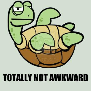 Awkward_Turtle_by_Sidoneon